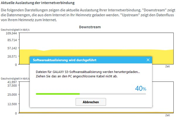 Samsung Firmware download Speed