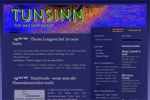 theme longjorn screenshot
